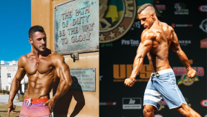 IFBB Men's Physique Competitor Xavier Wills   PERTH FITFAM
